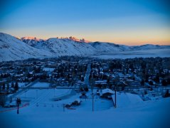 Town at Sunrise from Snow King