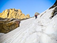 Lower Saddle Snowfield