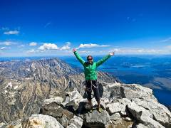 Summit of the Grand Teton