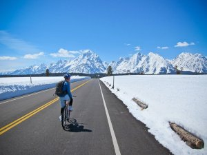 Bike Grand Teton National Park Spring